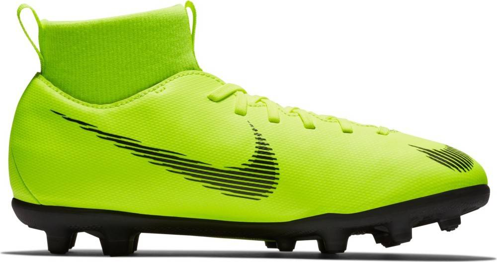 Nike Scarpe Calcio Bambino Mercurial Superfly VI Club MG Always Forward Pack, Taglia: 32, Per Bambino/a, Giallo, AH7339-701, IN SALDO!