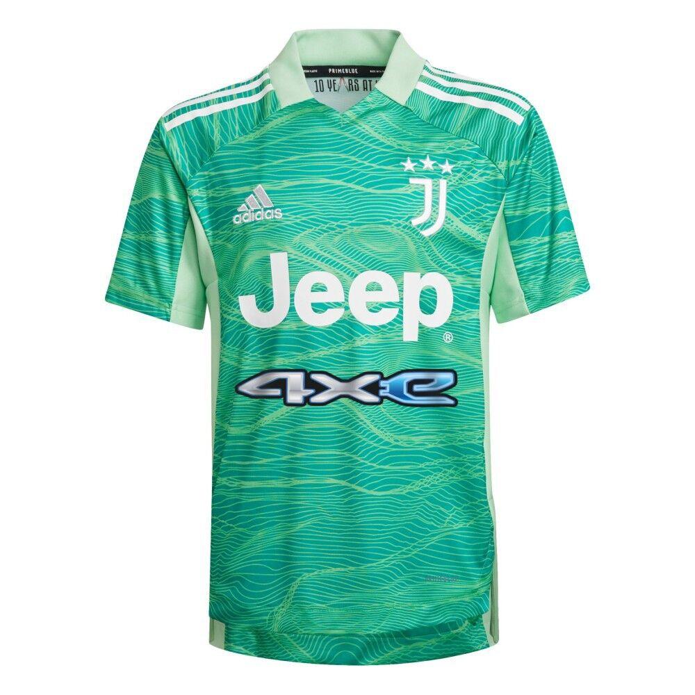 Adidas Maglia Bambino Goalkeeper 21/22 Juventus, Taglia: 15/16A, Per Bambino/a, Verde, GR0616