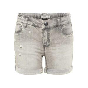 Name It Short Jeans Bambina Polly, Taglia: 140, Per Bambino/a, Grigio, 13162340 LGM