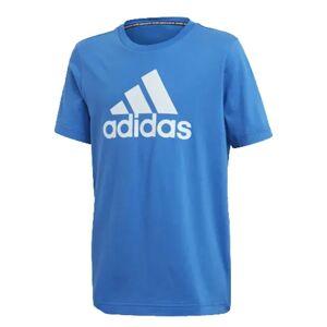 Adidas T-shirt Junior Bos tee, Taglia: 13/14A, Per Bambino/a, Azzurro, FM6452