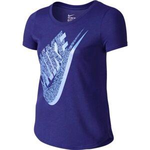 Nike T-Shirt Ragazza Tri Blend Palm Futura, Taglia: L, Per Bambino/a, Viola, 742122-512