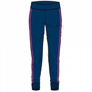 Adidas Pantalone Bambina LpK, Taglia: 8A, Per Bambino/a, Blu, BA5078