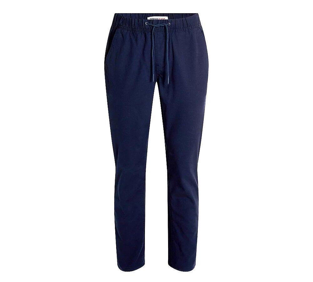 Tommy Jeans Pantaloni Uomo Scanton, Taglia: XXL, Per adulto Uomo, Blu, DM0DM10125C87