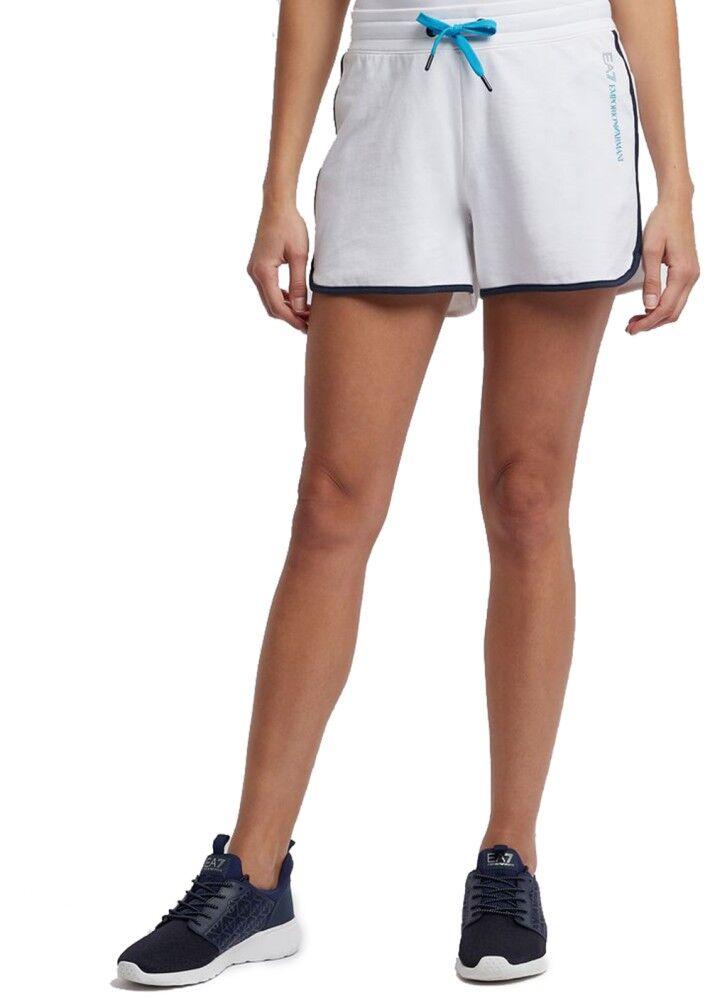 Ea7 Shorts Donna Train 7 Colours, Taglia: L, Per adulto Donna, Bianco, TJ31Z-3GTS53-1100, IN SALDO!