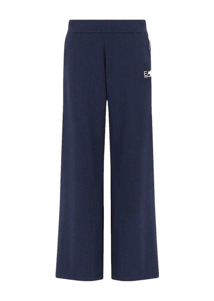 Ea7 Pantaloni Donna Train Master, Taglia: L, Per adulto Donna, Blu, TJ31Z-3HTP56-1554, IN SALDO!
