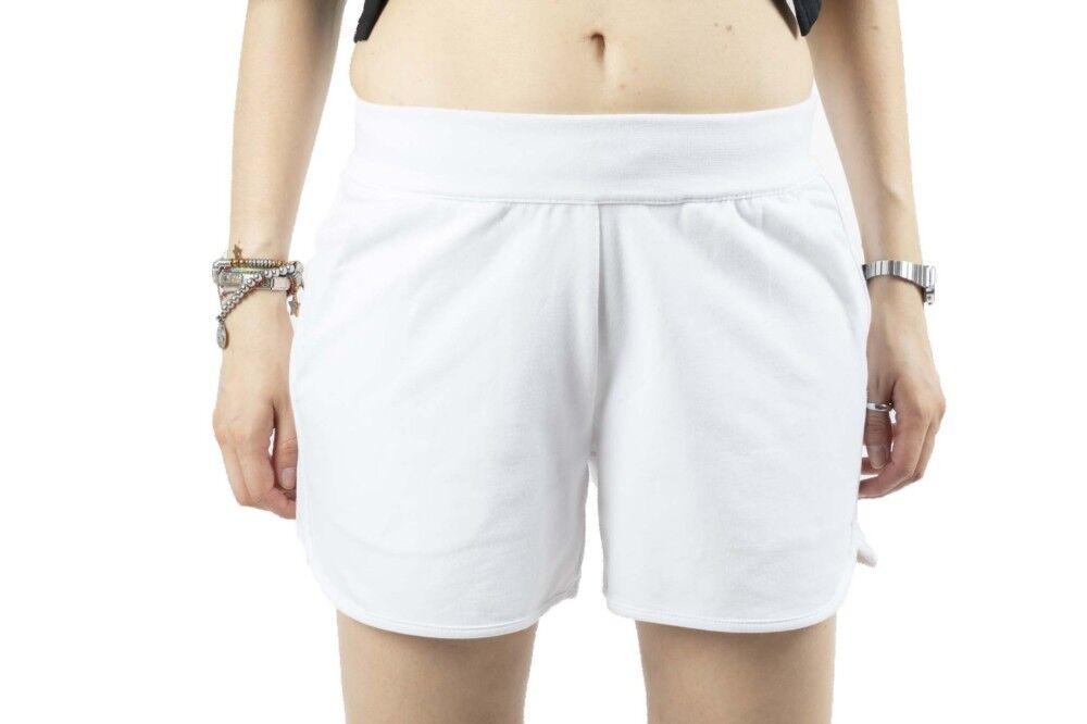 Ea7 Pantaloncini Donna Train Core, Taglia: S, Per adulto Donna, Bianco, TJ31Z-3HTS64-1100, IN SALDO!
