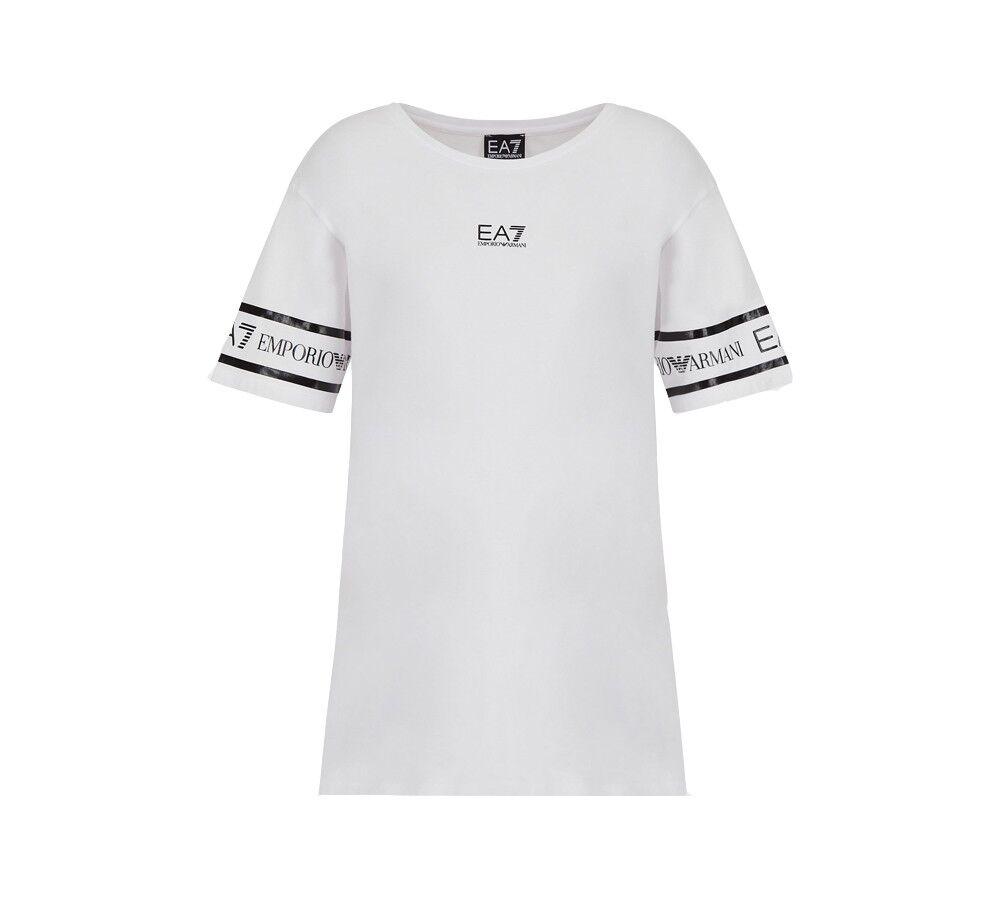 Ea7 T-shirt Donna Maxi Logo, Taglia: XL, Per adulto Donna, Bianco, TJ29Z 3KTT19 0102, IN SALDO!