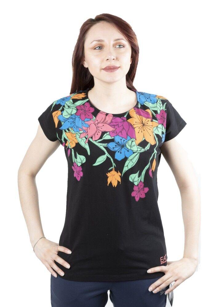 Ea7 T-Shirt Donna Training Graphic, Taglia: S, Per adulto Donna, Nero, TJ12Z-3ZTT77-1200, IN SALDO!