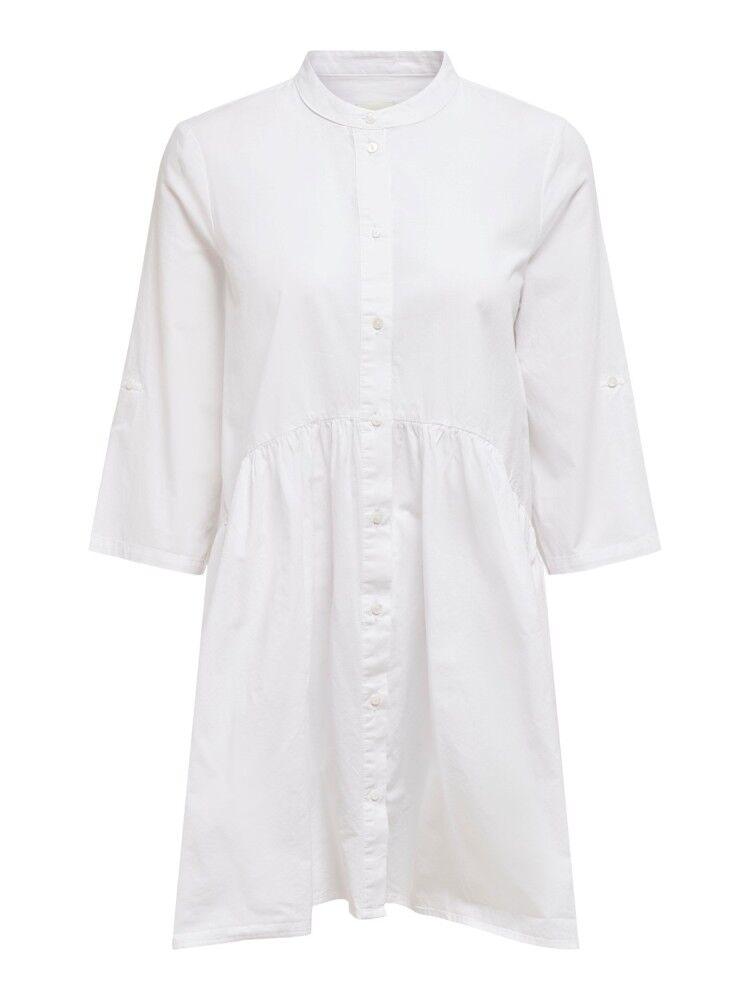 Only Vestito Donna Chicago Sleeve, Taglia: XS, Per adulto Donna, Bianco, 15195932 WHITE