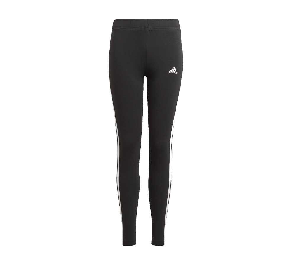 Adidas Leggings Girl Essentials 3-Stripes, Taglia: 14/15A, Per Bambino/a, Nero, GN4046