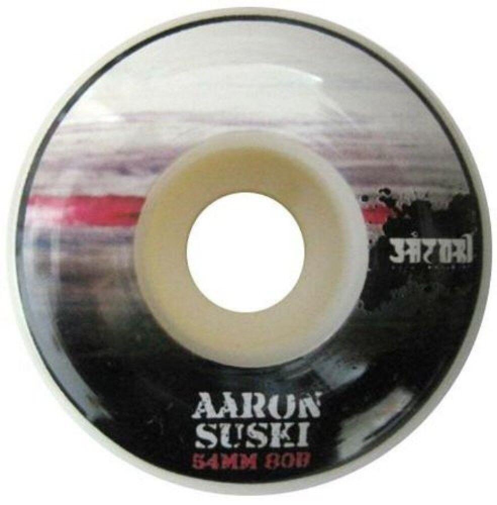 Satori Ruote per skate Aaron Suski Color of Skateboarding 80B, Taglia: Unica, Unisex, Fantasia, SAT062