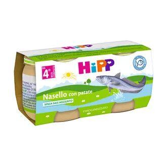 HIPP GMBH & CO. VERTRIEB KG Hipp Omogeneizzato Nasello Merluzzo Patate 4M+ 2x80g