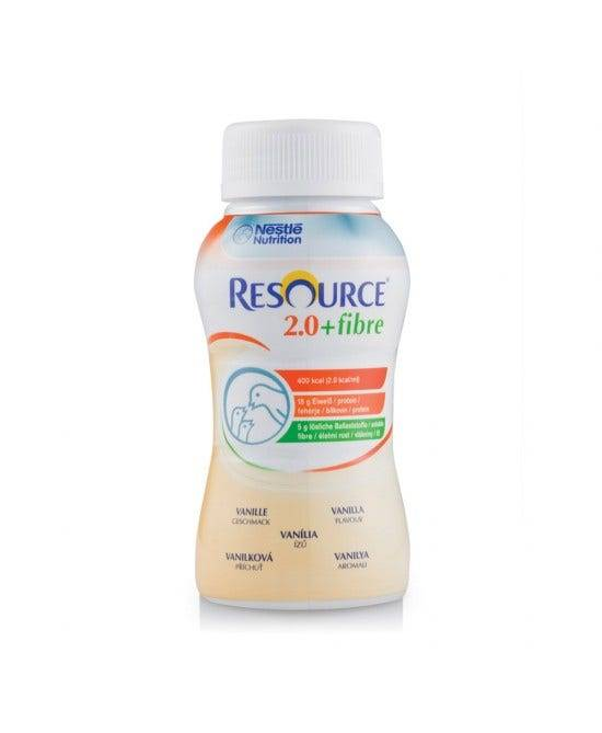 nestle'it.spa(healthcare nut.) resource 2.0 + fibre gusto vaniglia 200ml