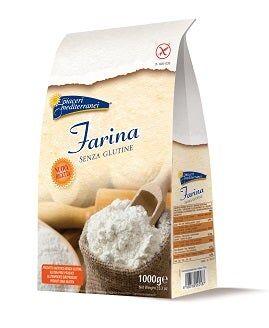 EUROSPITAL SPA Piaceri Mediterranei Farina Senza Glutine 1000g