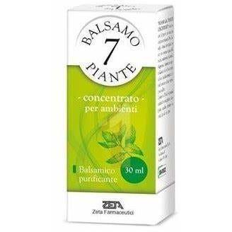zeta farmaceutici spa balsamo 7 piante concentrato ambienti balsamico purificante 30ml