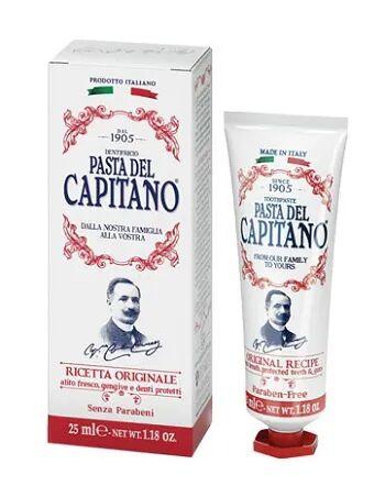 ciccarelli spa pasta del capitano 1905 dentifricio ricetta originale 25ml