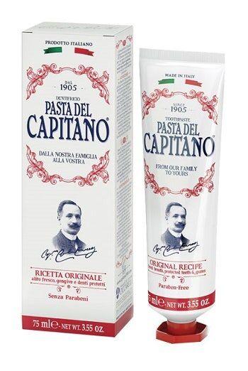 ciccarelli spa pasta del capitano 1905 dentifricio ricetta originale75ml