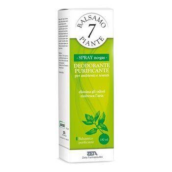 zeta farmaceutici spa balsamo 7 piante spray purificante ambiente e tessuti 180mnl