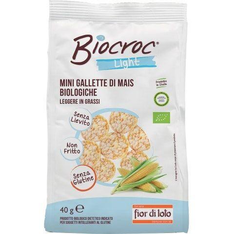 BAULE VOLANTE&IL FIOR DI LOTO Fiori Di Loto Biocroc Light Mini Gallette Di Mais Biologiche 40g