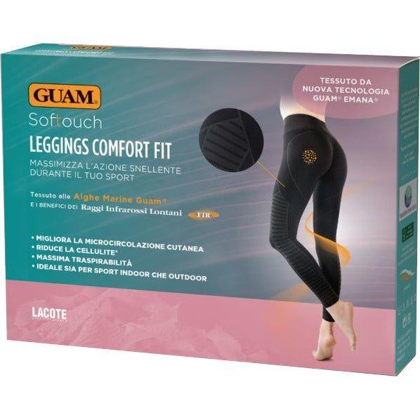LACOTE SRL Guam Softouch Leggings Comfort Fit L/XL 46-50 1 Pezzo Nero