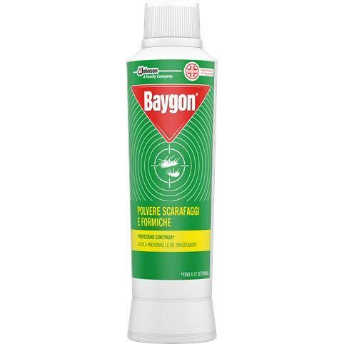 sc johnson italy srl baygon polvere repellente scarafaggi/formiche 250ml