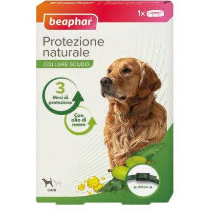 beaphar b.v. beaphar protezione naturale collare antiparassitario cane grande 80cm di lunghezza