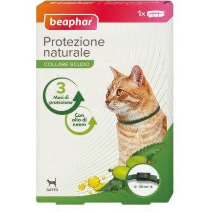 beaphar b.v. beaphar protezione naturale collare antiparassitario gatto 35cm