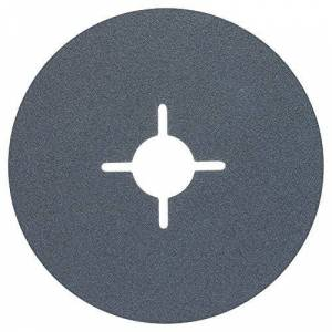 Bosch 2 608 606 lijador 730-Disco in fibra per smerigliatrice angolare, corindone di zirconio-115 mm, 22 mm, 120 (Confezione da 1)