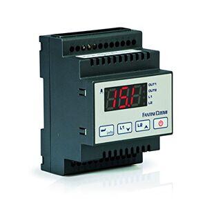 Fantini Cosmi L03BM2A Termostato On/off, P.I.D. a 2 Uscite con Gestione Allarmi di Temperatura, 230 V, Nero, Alimentazione: 230Vac 50Hz