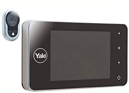 yale spioncino digitale memory, argento
