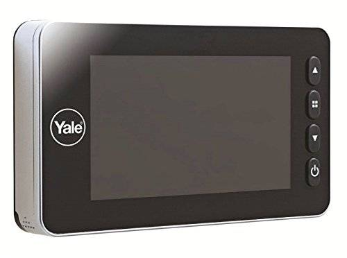 yale spioncino digitale auto imaging, argento