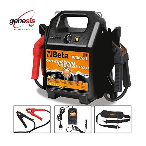 beta 1498/24 avviatore per batterie auto e veicoli commerciali 12-24v portatile