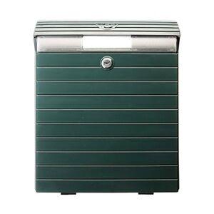 Tatay 0043004 - Cassetta della posta, colore verde