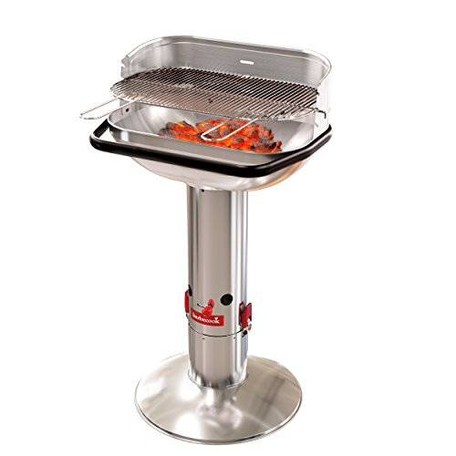 barbecook barbecue a carbone loewy 55sst, acciaio inox