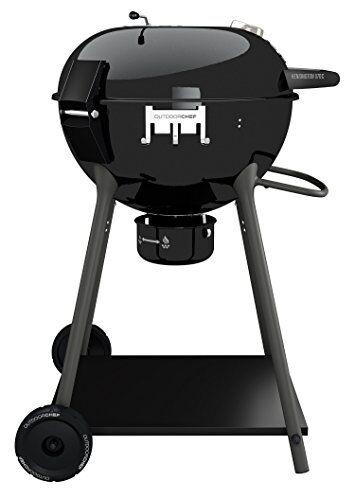 outdoorchef kensington 570 c barbecue a carbone, nero, 69x75x101 cm