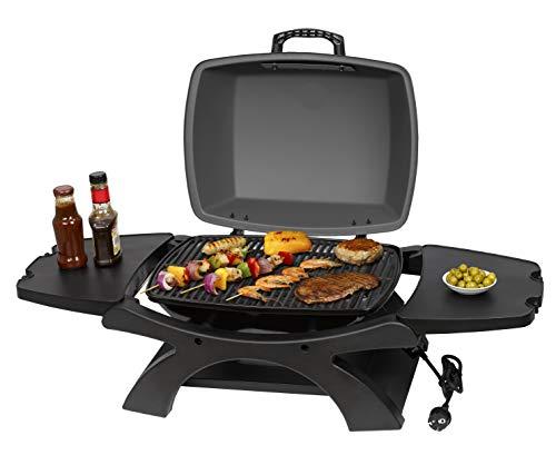 tepro elektrogrill barbecue elettrico abington, antracite