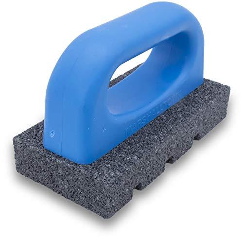marshalltown smerigliatrice per calcestruzzo marshalltown, grattugia per mattoni con graniglia 20, per costruttori di calcestruzzo, piastrellisti, strati di massetto e muratori a secco, dimensioni: 152x76x76 mm