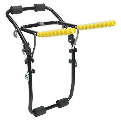 sealey bs3 - portapacchi posteriore per auto, 6 strap, per un massimo di 6 biciclette