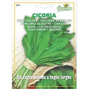 Hortus 29CIC2011 Maxi Busta Ortovivo Cicoria Taglio Bionda, Foglia Larga, 12x0.2x16.5 cm
