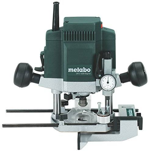 metabo 6.01229.00 fresatrice verticale elettronica, 1200 w, green,silver