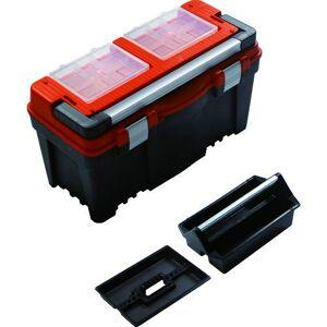 Terra Hiker Terra, 5900368100, Cassetta porta-attrezzi, in plastica, con scomparti interni, 60 x 28,6 x 32,7 cm