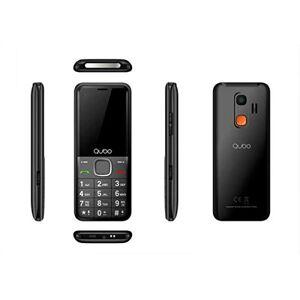 "QUBO BK TELEFONO XEUS 2.4"" Bluetooth Fotocamera Nero"