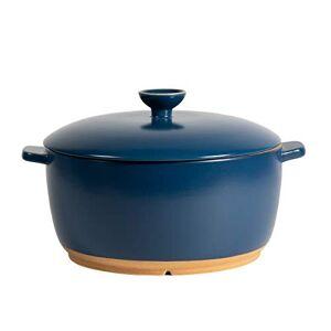 De la Terre, grande forno olandese in ceramica  pentole termiche resistenti agli urti, progettate per forno, microonde, stufa o grill, 11 pollici / 6,25 Qt