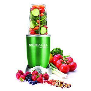river internacional Nutribullet NB5-0628-G - Estrattore di sostanze nutritive con ricettario in spagnolo, base motore ad alta capacit, 500 W, 20.000 giri/min, con vari accessori, colore: Verde