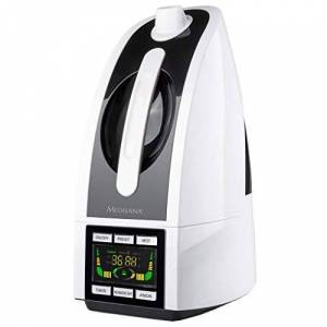 Medisana AH 665 Ultrasonico 4.5L 30W Nero, Bianco umidificatore