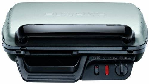 rowenta gr3050 classic bistecchiera con 2 posizioni di cottura, potenza 2000 w, 600 cm2