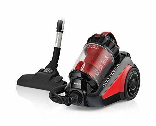 ariete 2739.0 aspirapolvere senza sacco, 700 w, 79 decibel, plastica, nero/rosso