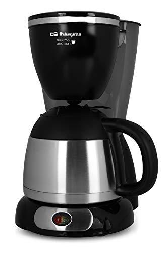 orbegozo cg 5011-macchina da caffé, colore: nero/grigio
