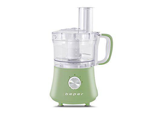 beper robot da cucina 500w 1,8l, 500 w, verde