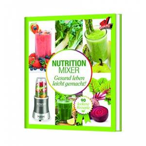 TV Unser Original 05810Mr Magic Nutrition Mixer ricettarioLibro Natural Superfood Smoothie